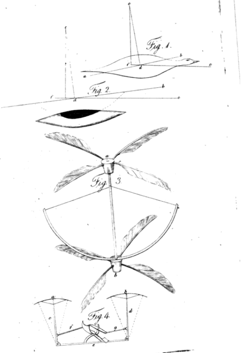 Cayley helicopter design nicholson journal - november 1809